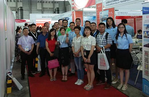 硕豪国际物流携带公司核心产品应邀参加第八届亚洲物流双年展