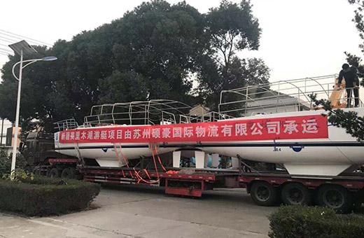 硕豪国际物流承运加气块生产线乔迁柬埔寨的重大件项目工程